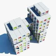 Архитектура 022 3d model