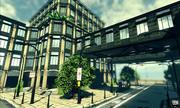 UDK City Building low poly 3d model
