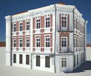 Budynek miejski 01 3d model