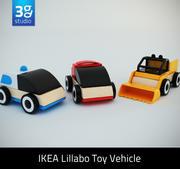 Vehículo de juguete Lillabo modelo 3d