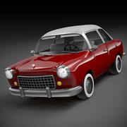 Carro retrô 3d model