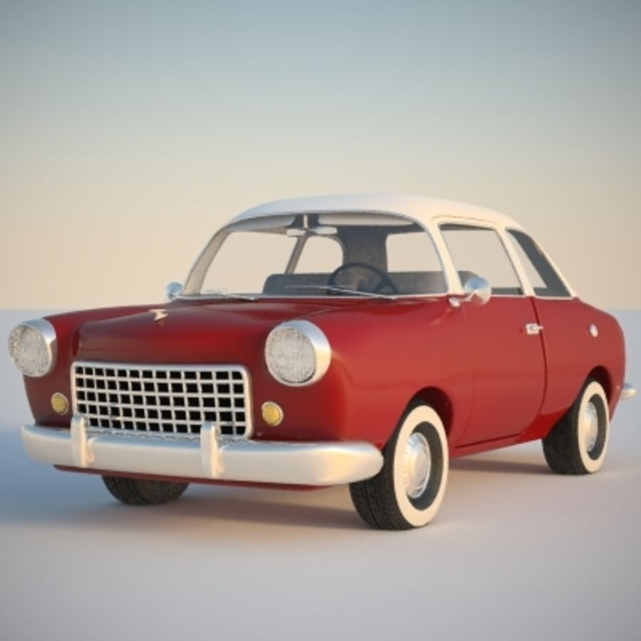 Ретро автомобиль royalty-free 3d model - Preview no. 11