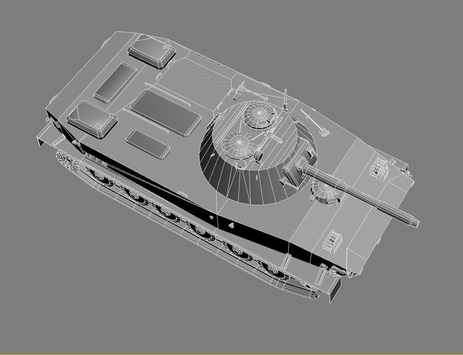 PT-76 Soviet Amphibious Tank Game royalty-free 3d model - Preview no. 23