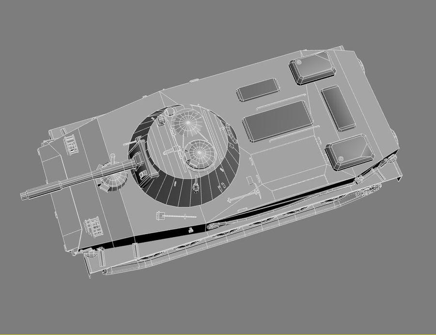 PT-76 Soviet Amphibious Tank Game royalty-free 3d model - Preview no. 22