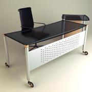 Office Desk 01 3d model