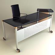 办公桌01 3d model