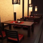 Japanische Tabelle und Sushi 3d model