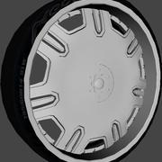 Lexani Radiant Wheel 3d model