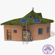 에코 하우스 3d model