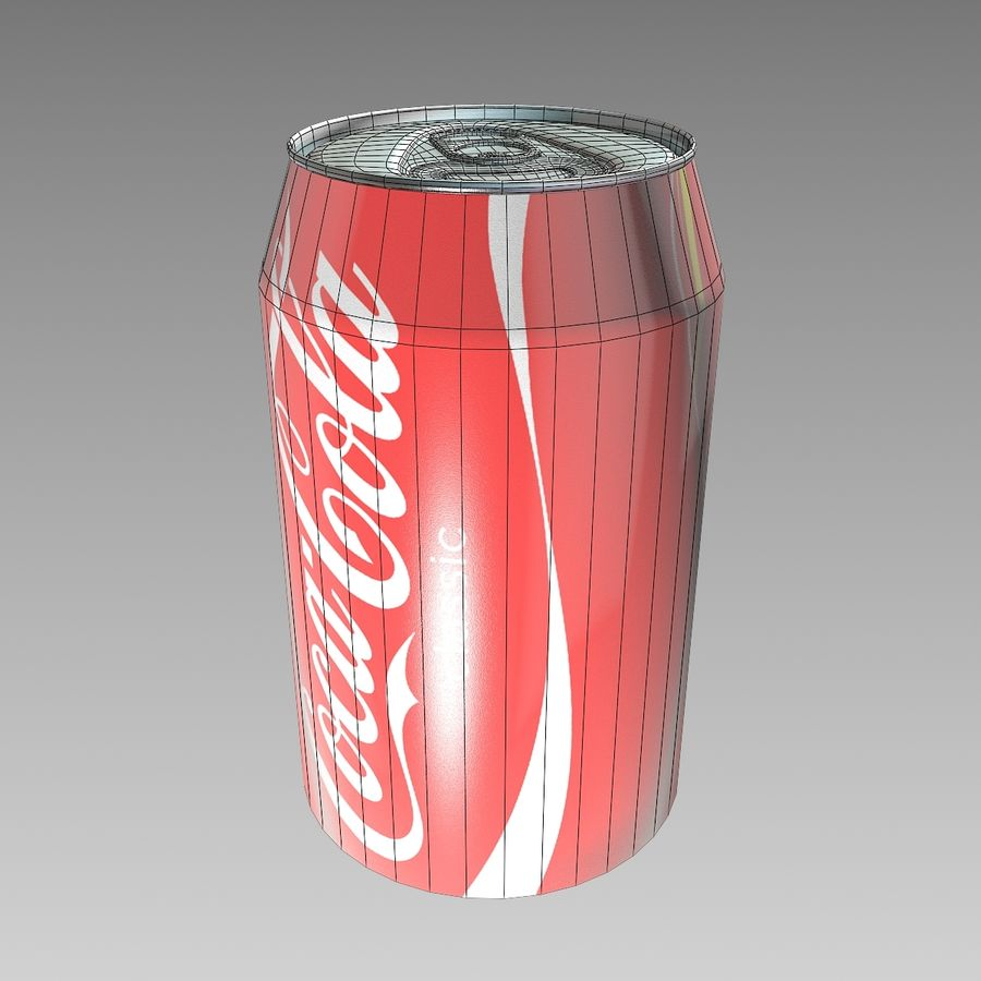 Coca cola royalty-free 3d model - Preview no. 4