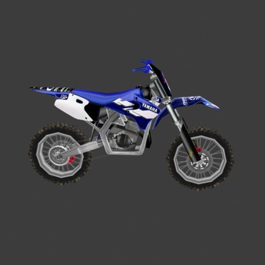 låg poly smuts cykel 03 royalty-free 3d model - Preview no. 2