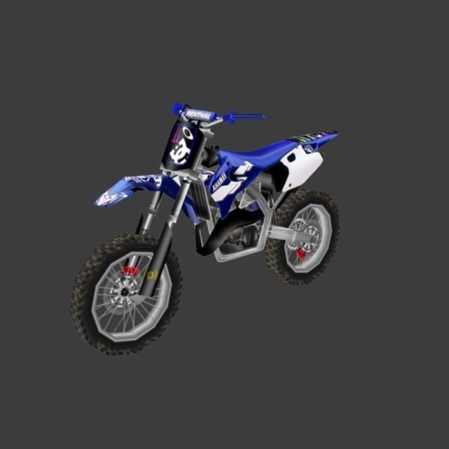 låg poly smuts cykel 03 royalty-free 3d model - Preview no. 1