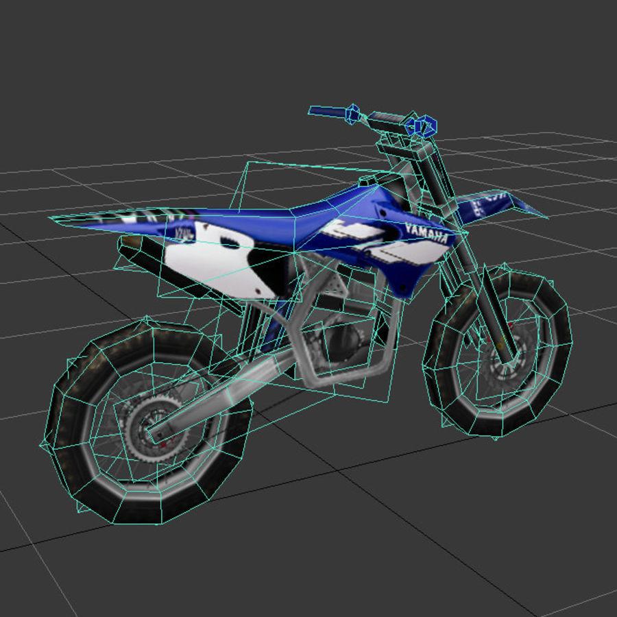 låg poly smuts cykel 03 royalty-free 3d model - Preview no. 3