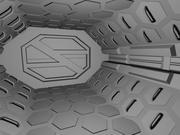 Bioforge airlock 3d model