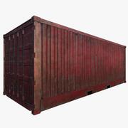 Container di spedizione (pronto per il gioco) 3d model