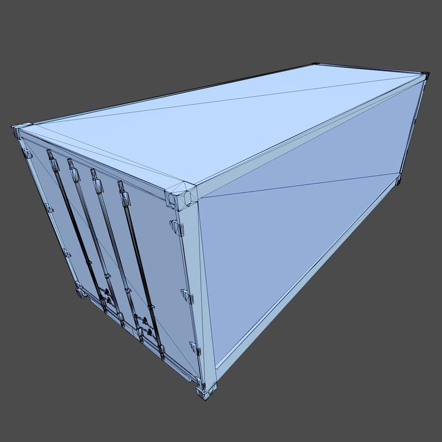 Nakliye Konteyneri (Oyuna Hazır) royalty-free 3d model - Preview no. 10