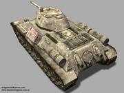 T34-76 SOVIET TANK 3d model
