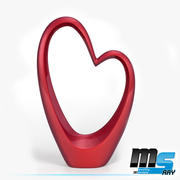 Hart decoratie item 3d model