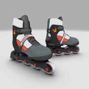 Patins à roulettes 3d model