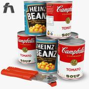 Haricots En Conserve Tomate 3d model
