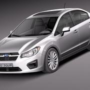 Subaru Impreza 2013 sedan 3d model