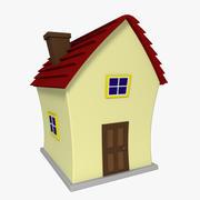 Мультфильм дом 3d model