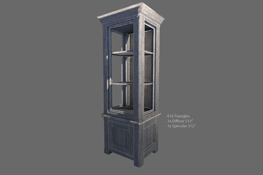 Vardagsrum möbler royalty-free 3d model - Preview no. 2