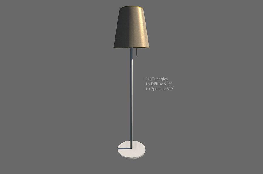 Vardagsrum möbler royalty-free 3d model - Preview no. 16