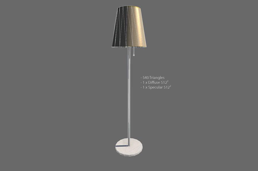 Vardagsrum möbler royalty-free 3d model - Preview no. 17