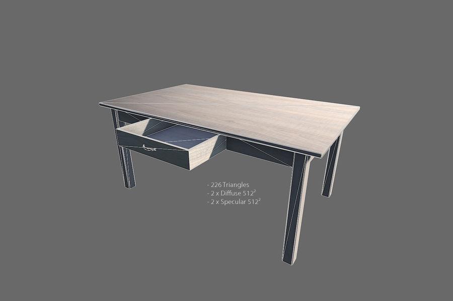 Vardagsrum möbler royalty-free 3d model - Preview no. 15