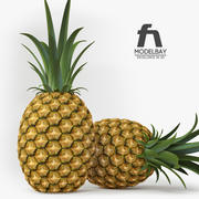 Ananas meyve 3d model