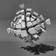 Voronoi Tessellation 05 3d model