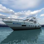Jacht 04 3d model