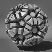 Voronoi Tessellation 06 3d model