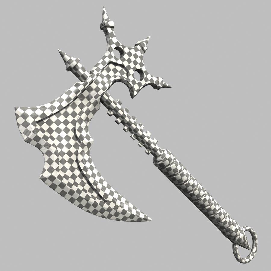 Fantasy Axe royalty-free 3d model - Preview no. 12