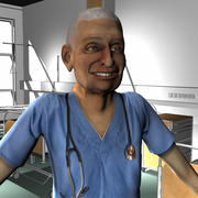 Medical Staff Male 78 3d model