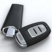 Audi Key Car 3d model