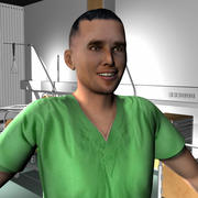 Medical Staff Male 67 3d model