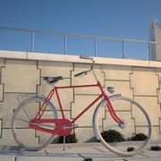 ビンテージ自転車 3d model