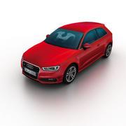 Audi A3 2013 3d model