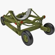 Bomb Cart 8 3d model