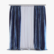 Curtains 03 3d model