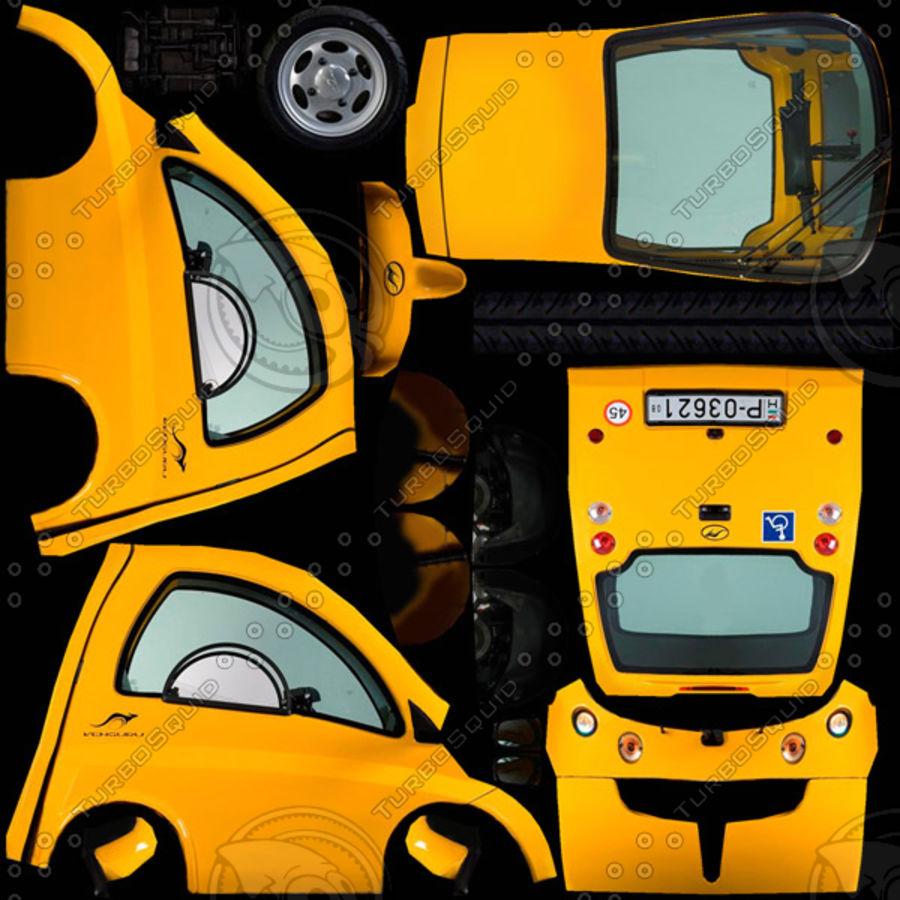 Kenguru Cruiser royalty-free 3d model - Preview no. 8