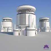 Edificio Industrial 10 modelo 3d
