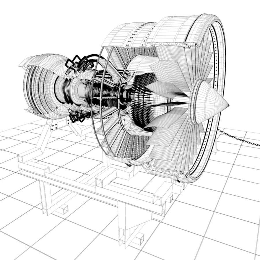 喷气发动机 royalty-free 3d model - Preview no. 6