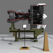 Jet Engine 3d model