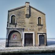 Venedik Kilisesi LowPoly 3d model