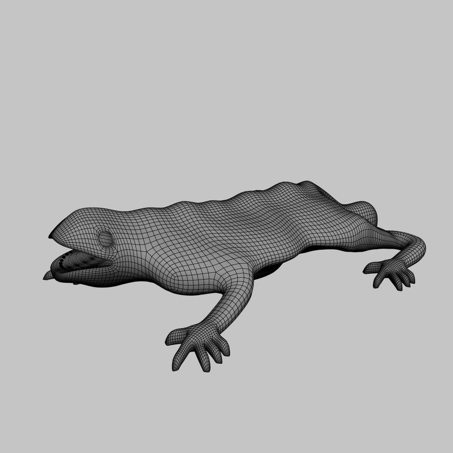 Gaudinian Dragon royalty-free 3d model - Preview no. 10