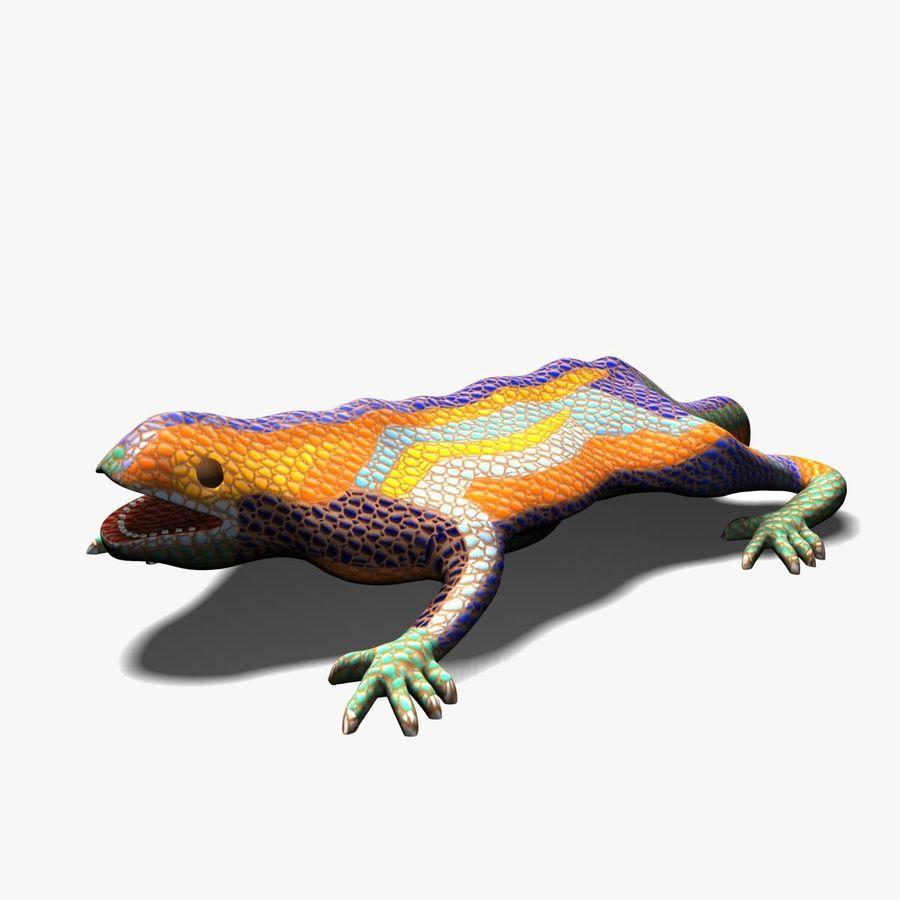 Gaudinian Dragon royalty-free 3d model - Preview no. 1