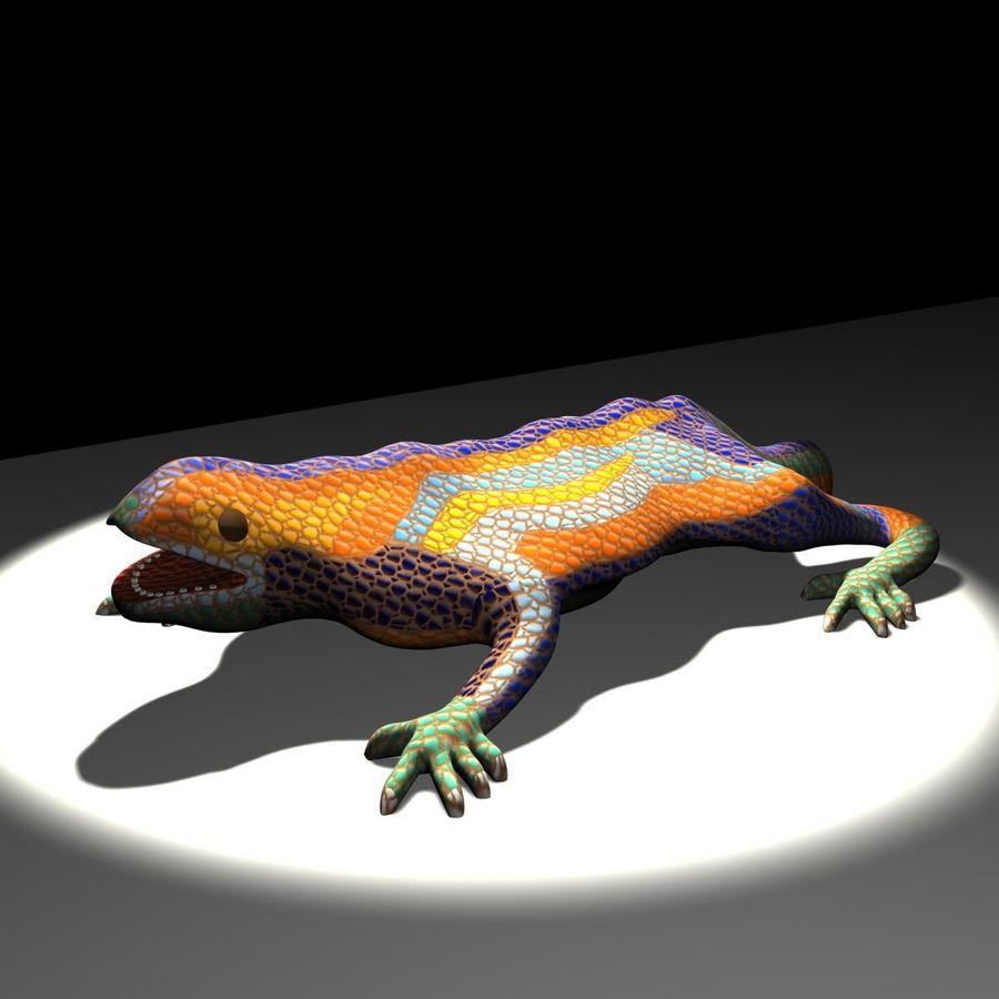 Gaudinian Dragon royalty-free 3d model - Preview no. 2